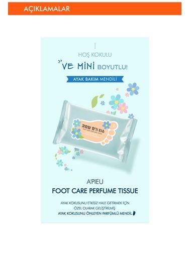 Missha Ayak Kokusu Önleyici Temizleme Mendili (10Ad) Apıeu Foot Care Perfume Tissue Renksiz